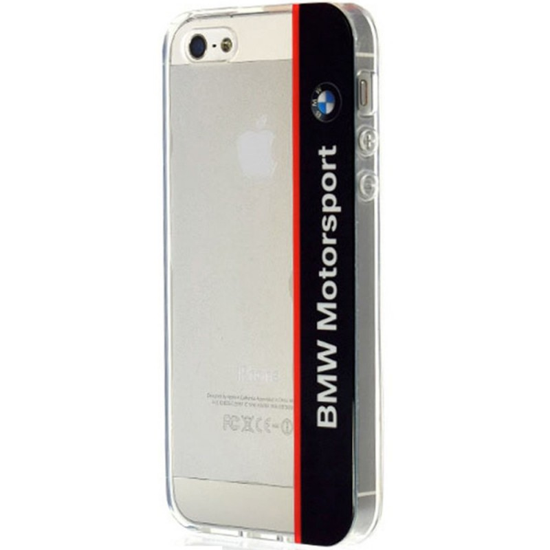 Bumper iPhone SE, 5, 5S BMW Motorsport - Transparent BMHCPSETVNA