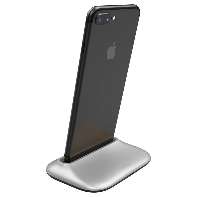 Incarcator Birou Pentru iPhone Baseus Little Volcano - Silver