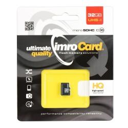 Card de memorie Clasa 10 Imro Micro SDHC 32 GB UHS-I
