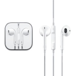 Handsfree Apple MD827ZMA 3.5 mm White Bulk