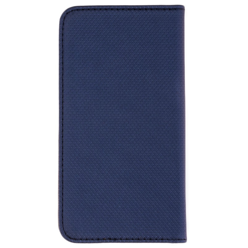 Husa Smart Book pentru telefoane intre 4.5 - 4.7 inch - Flip Albastru