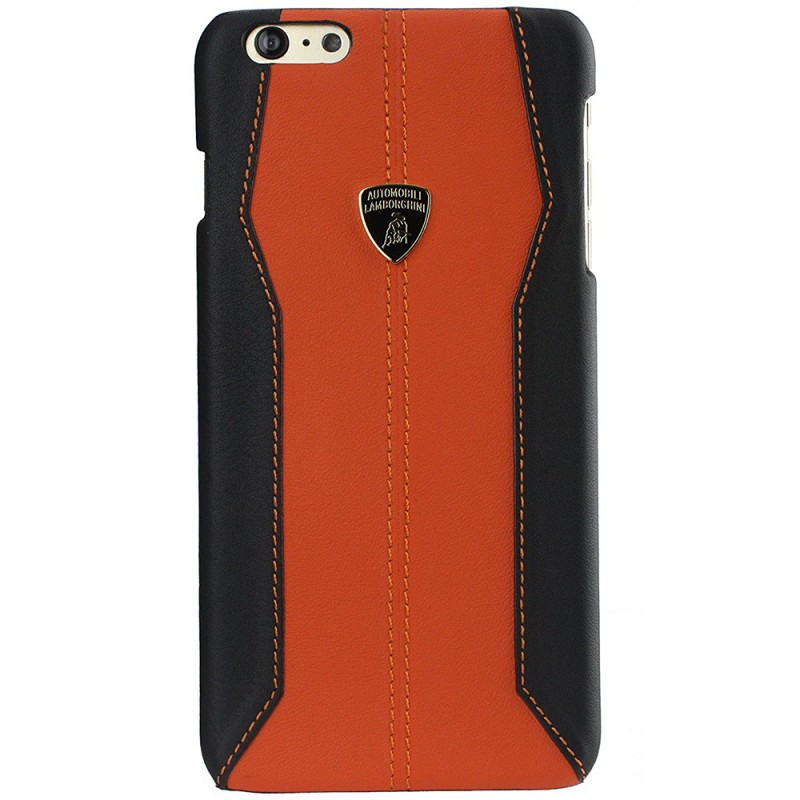 Bumper iPhone 7 Lamborghini Huracan D1 Leather - Red
