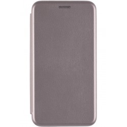 Husa iPhone 6, 6S Flip Magnet Book Type - Gri
