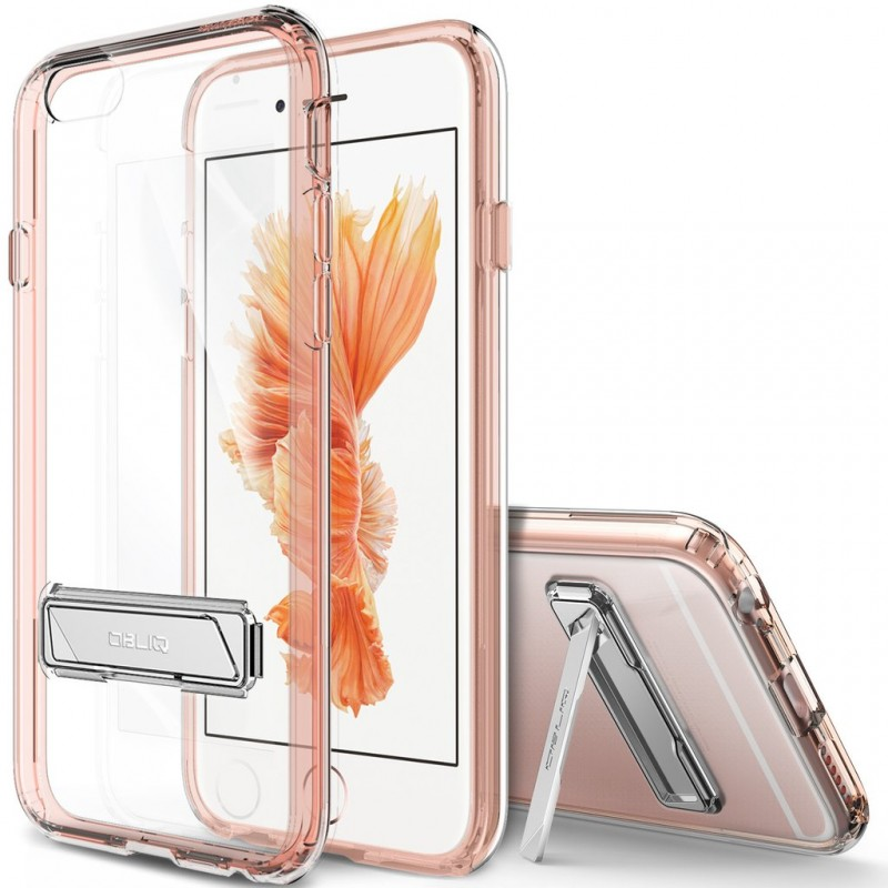 Husa Iphone 7 Obliq Naked Kickstand Shield - Rose Gold