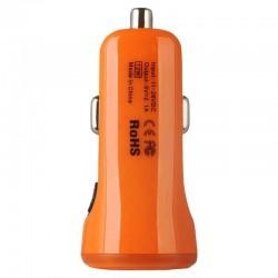 Incarcator Auto Baseus Tiny Color Dual USB 3.1A - CCALL-CR07 - Portocaliu