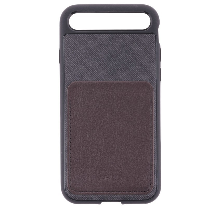 Husa Iphone 7 Obliq Flex Wallet - Espresso