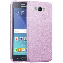 Husa Samsung Galaxy J5 2016 J510 Color TPU Sclipici - Mov