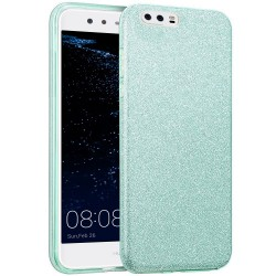 Husa Huawei P10 Plus Color TPU Sclipici - Verde