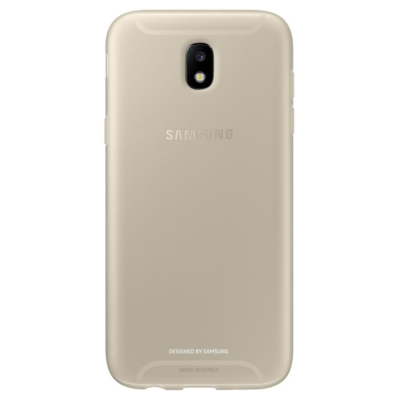 Husa Originala Samsung Galaxy J7 2017 J730 Jelly Cover - Gold