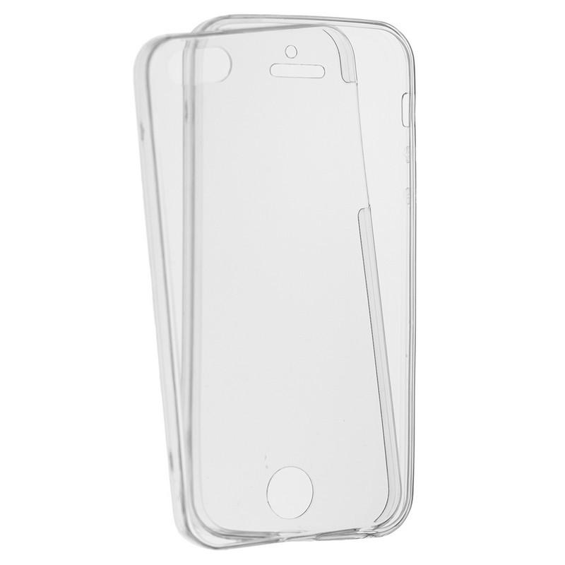 Husa iPhone SE, 5, 5S TPU UltraSlim 360 Transparent