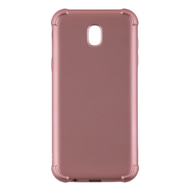 Husa Samsung Galaxy J5 2017 J530, Galaxy J5 Pro 2017 TPU Smart Case 360 Full Cover Rose Gold