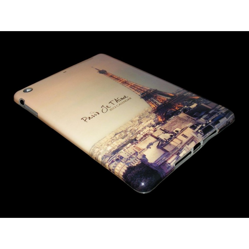 Husa Apple iPad Mini 1 / 2 Silicon Gel TPU Paris Sunshine