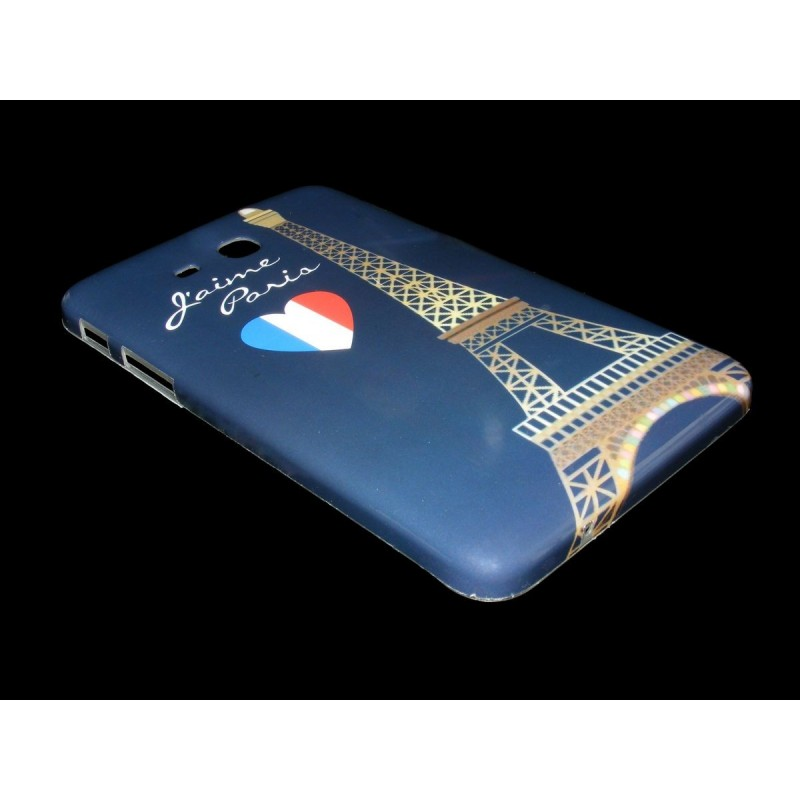 Husa Samsung Galaxy Tab 3 Lite 7 inch T110 T111 Silicon Gel TPU Paris Hearth