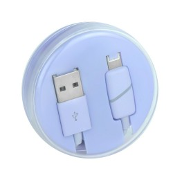 Cablu De Date Lightning Kabel Ring- Mov