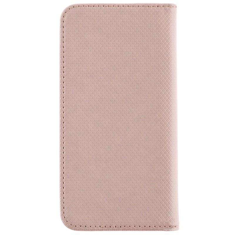Husa Smart Book pentru telefoane intre 4.0 - 4.5 inch - Flip Auriu