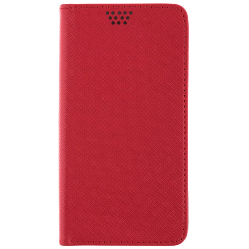 Husa Smart Book pentru telefoane intre 4.7 - 5.0 inch - Flip Rosu