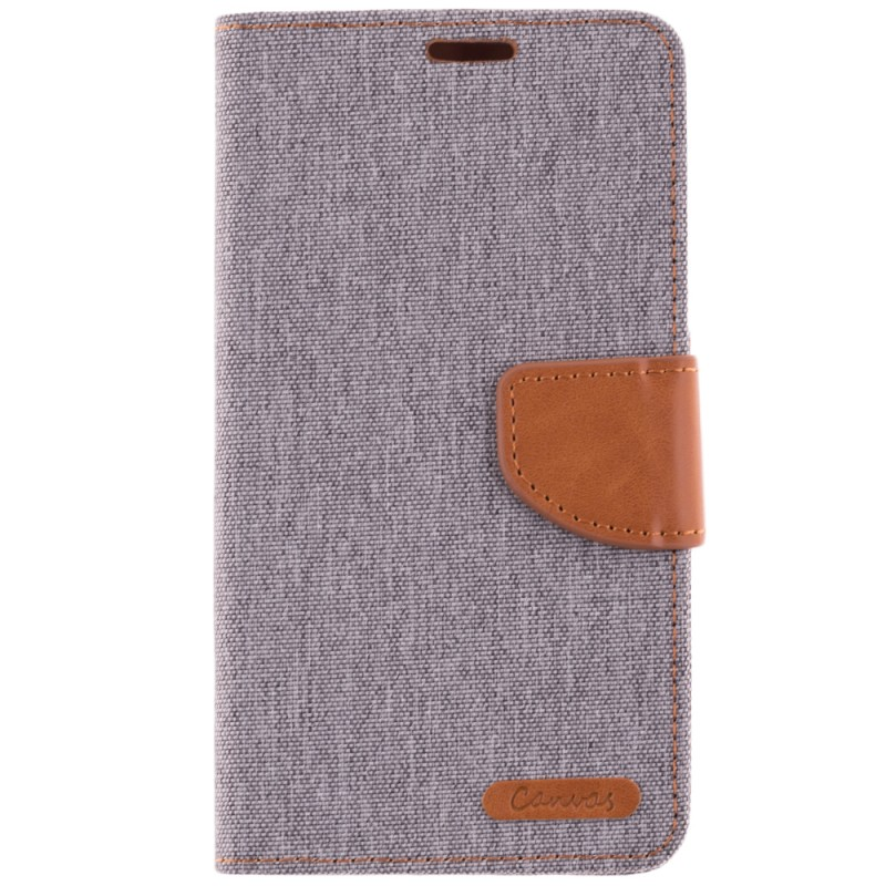 Husa Samsung Galaxy J7 2017 J730 Book Canvas Gri