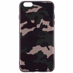 Husa Apple iPhone 6 Plus, 6S Plus Army Camouflage - Green