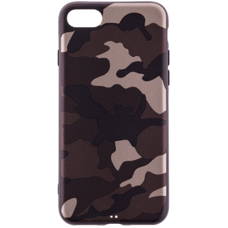 Husa Apple iPhone 7 Army Camouflage - Brown
