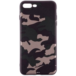 Husa Apple iPhone 7 Plus Army Camouflage - Green