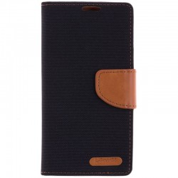 Husa Samsung Galaxy J5 2016 J510 Book Canvas Negru