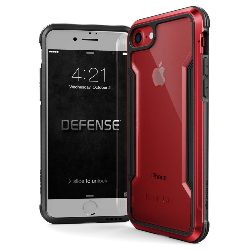 Husa Apple iPhone 7 X-Doria Defense Shield - Red