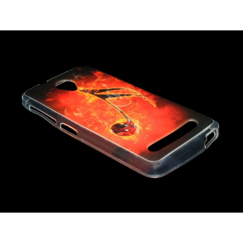 Husa Allview V1 Viper S Silicon Gel TPU Burning Musical Note