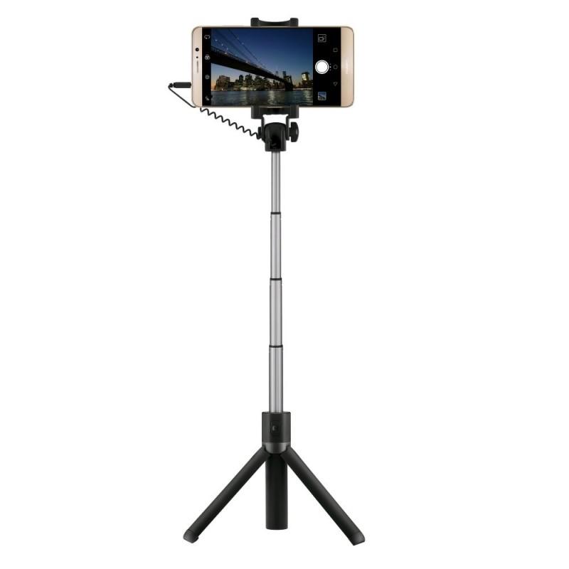 Suport Selfie Huawei AF14 Jack 3.5mm - Negru