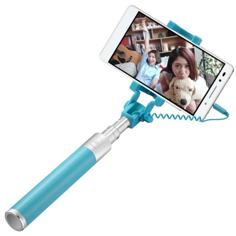 Suport Selfie Huawei AF11 Jack 3.5mm - Albastru