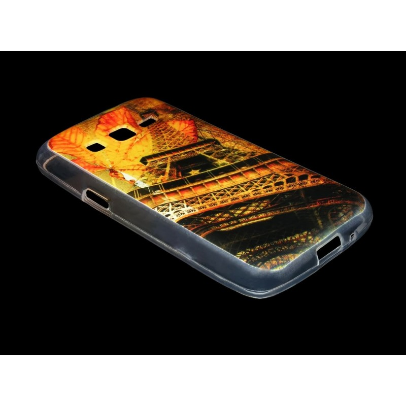 Husa Samsung Galaxy Core 4G G386F Silicon Gel TPU Autumn