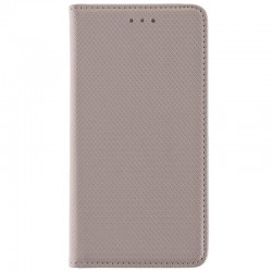 Husa Smart Book Samsung Galaxy S5 G900 Flip Auriu