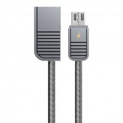 Cablu de date Micro USB Remax Linyo RC-088m - Argintiu