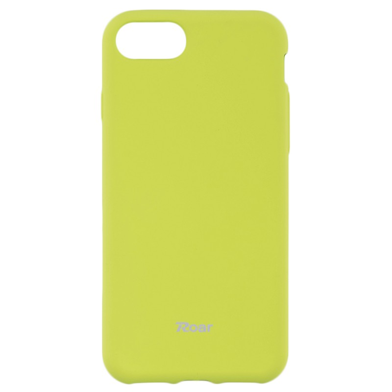 Husa iPhone 7 Roar Colorful Jelly Case Lime Mat