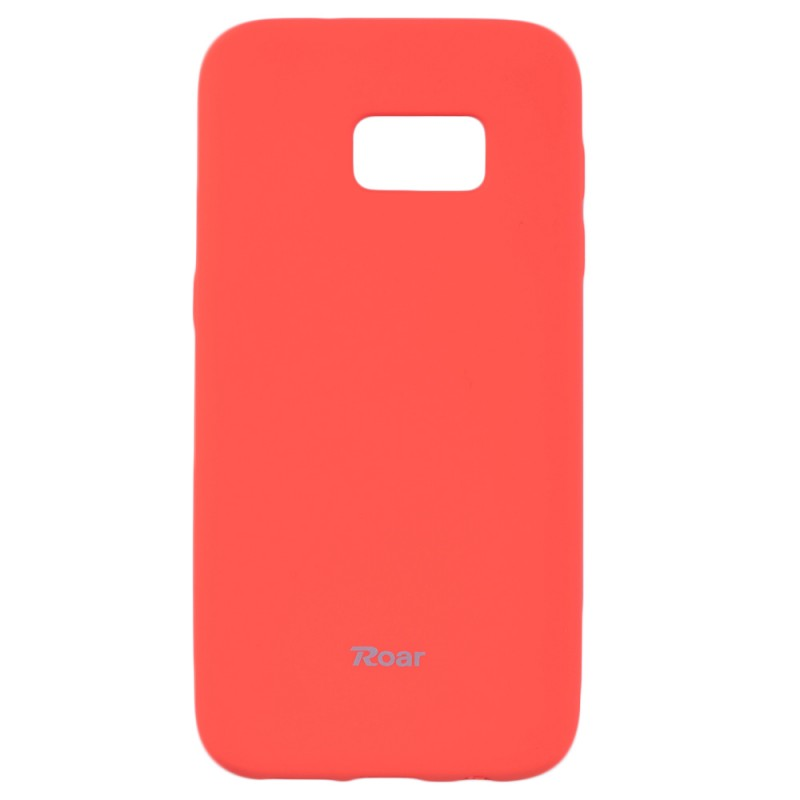 Husa Samsung Galaxy S7 G930 Roar Colorful Jelly Case Portocaliu Mat