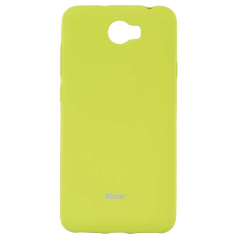 Husa Huawei Y5 II, Y5 2, Y6 II Compact Roar Colorful Jelly Case Lime Mat