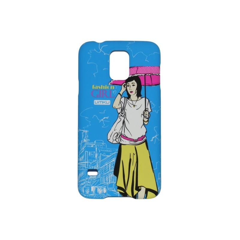 Husa Samsung Galaxy S5 G900 Plastic Model Fashion Girl