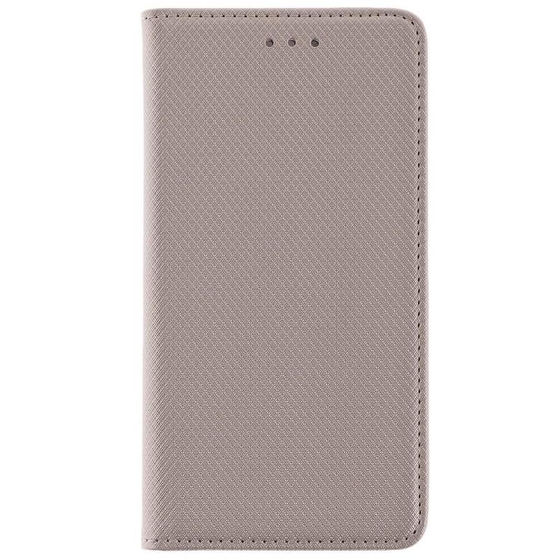 Husa Smart Book Samsung Galaxy J5 2017 J530, Galaxy J5 Pro 2017 Flip Auriu