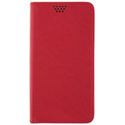 Husa Smart Book Huawei Y5 II, Y5 2, Y6 II Compact Flip Rosu