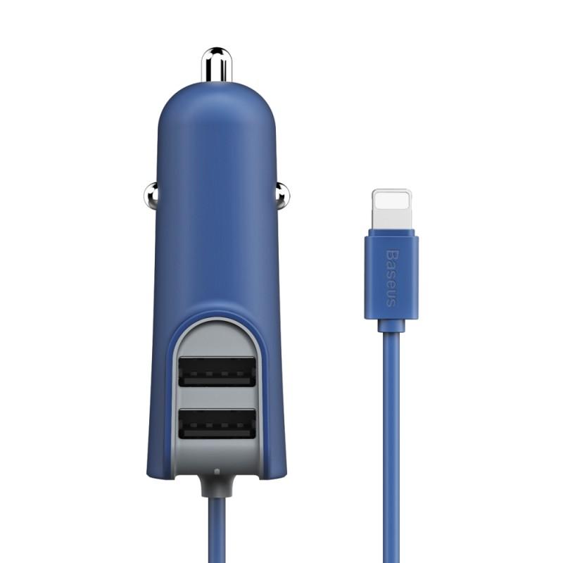 Incarcator Auto Baseus Energy Station Lightning - CCNL-03 - Albastru