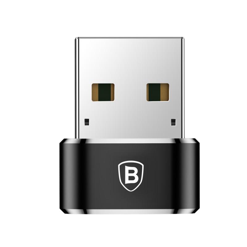 Convertor Baseus USB-C - USB- Black