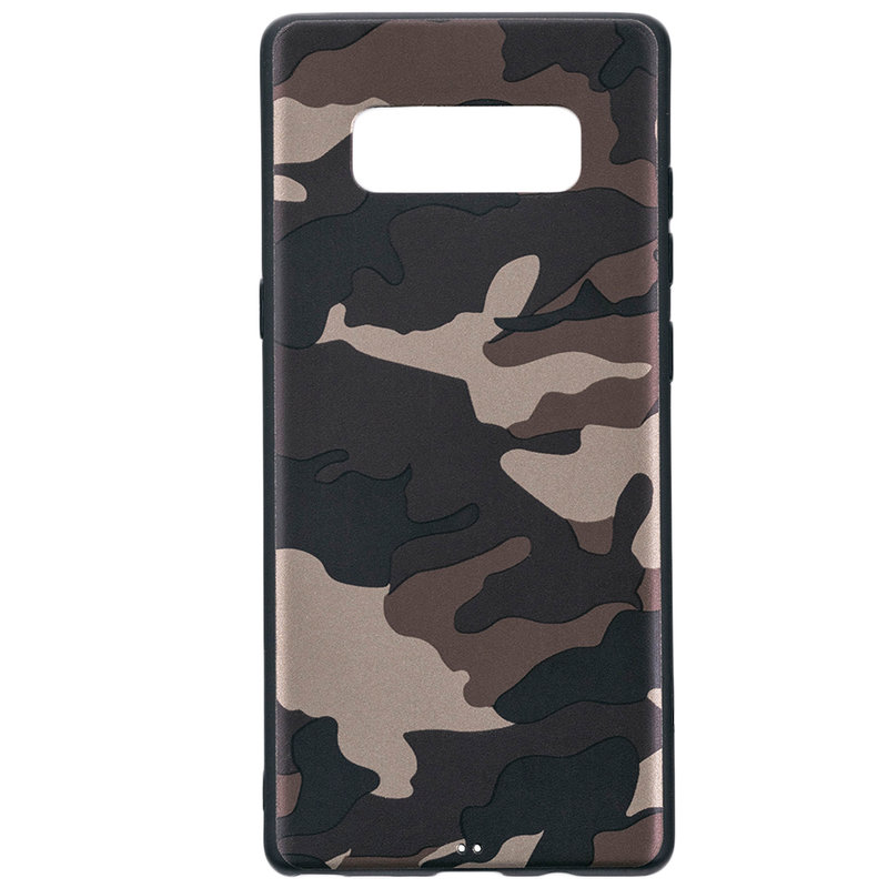 Husa Samsung Galaxy Note 8 Army Camouflage - Brown