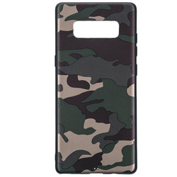 Husa Samsung Galaxy Note 8 Army Camouflage - Green