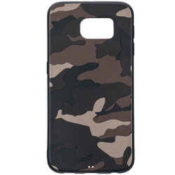 Husa Samsung Galaxy S6 G920 Army Camouflage - Brown
