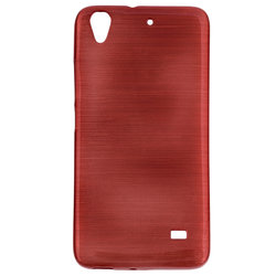 Husa Huawei Ascend G620S Jelly Brush Red