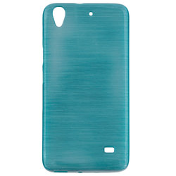 Husa Huawei Ascend G620S Jelly Brush Blue