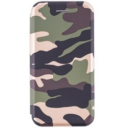 Husa iPhone 8 Flip Magnet Book Type - Camouflage