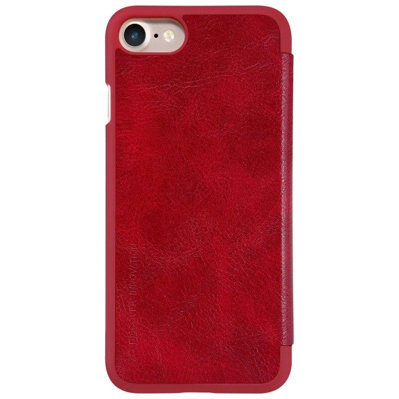 Husa iPhone 8 Flip Nillkin QIN Rosu