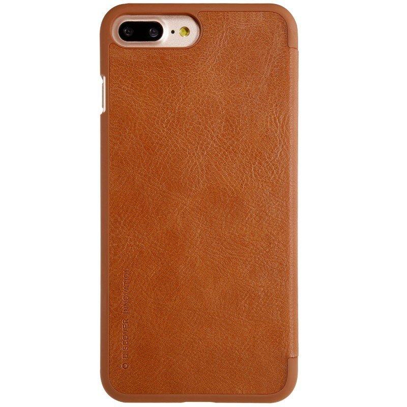 Husa iPhone 8 Plus Flip Nillkin QIN Maro