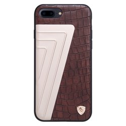 Husa Iphone 8 Plus Nillkin Hybrid Crocodile Leather - Brown