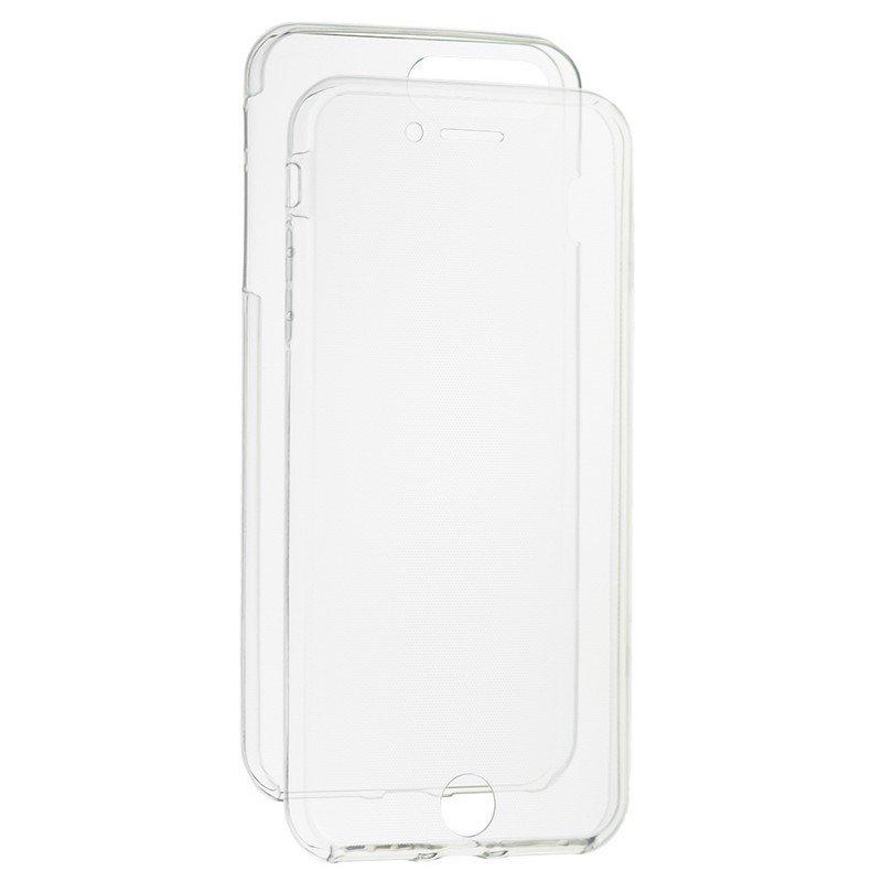 Husa iPhone 8 Plus TPU UltraSlim 360 Transparent